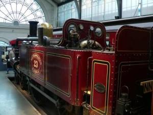 locomotive du métro de londres