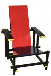 chaise-rouge-bleue