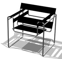 Chaise- Vassily-Breuer